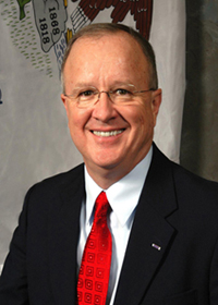 Photograph of Representative  Ron Stephens (R)
