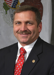 Photograph of Representative  Mike Bost (R)